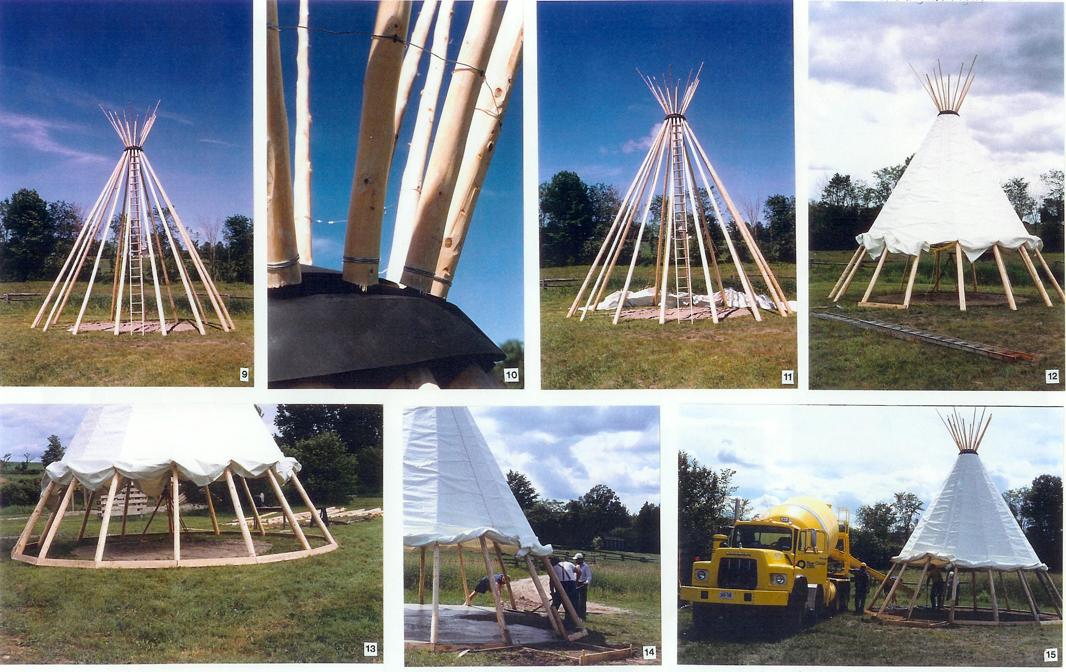 Tipi Construction